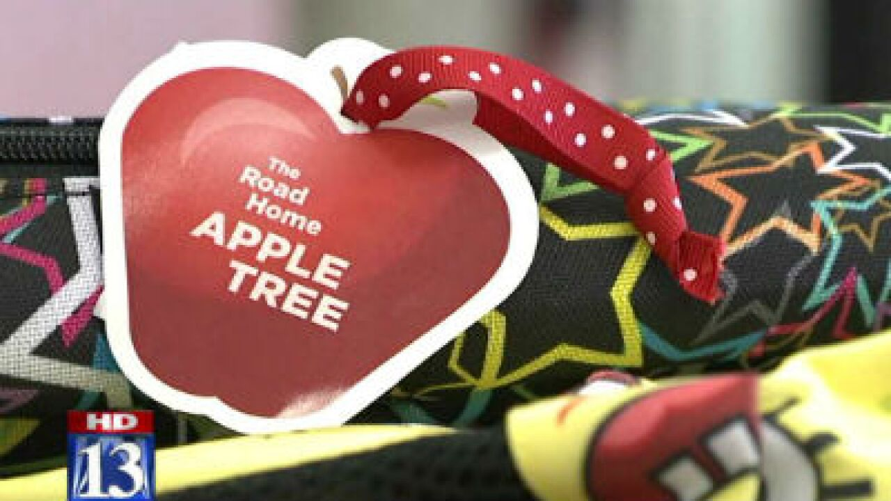 Apple Tree Campaign collects school supplies for kids in need
