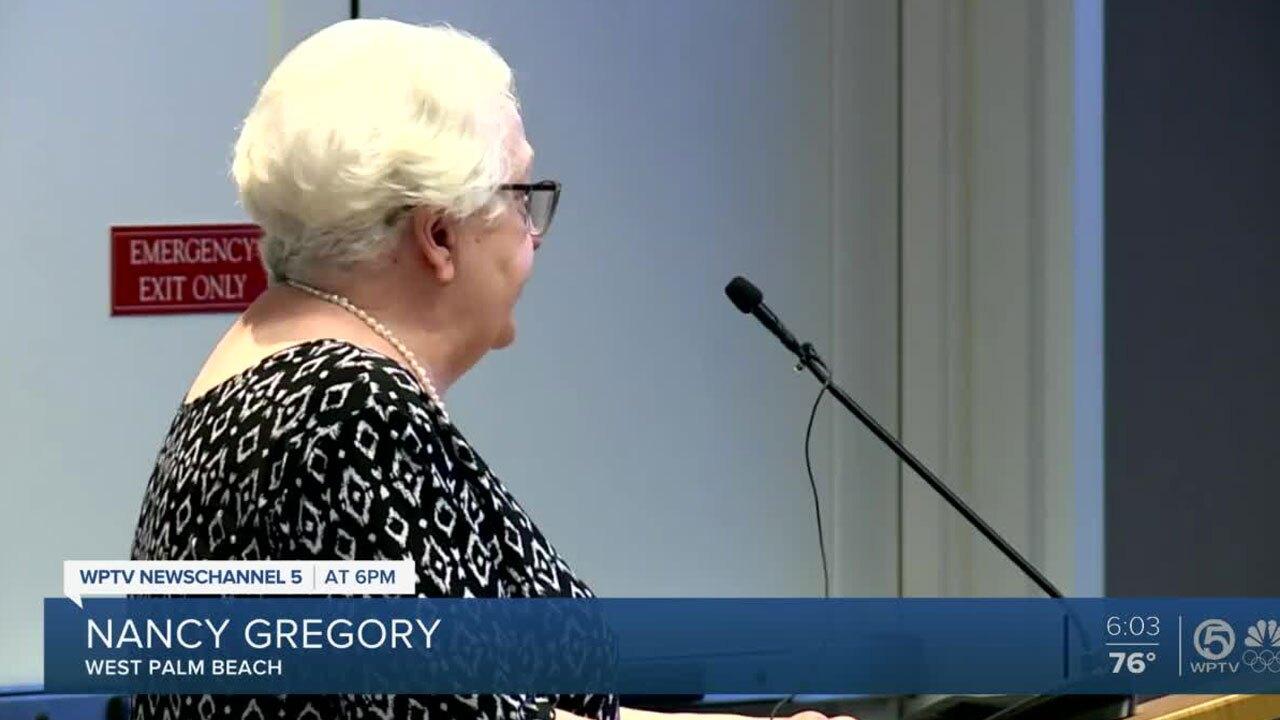 Nancy Gregory, got sick from West Palm Beach algae