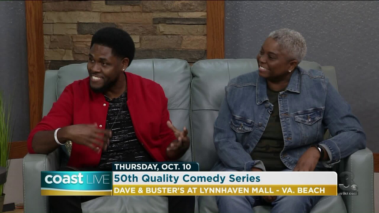 Celebrating Quality Comedy's 50th Show with local comedians on CoastLive