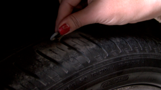 Broken Arrow mother outraged by road construction costing her $700 in tire repairs