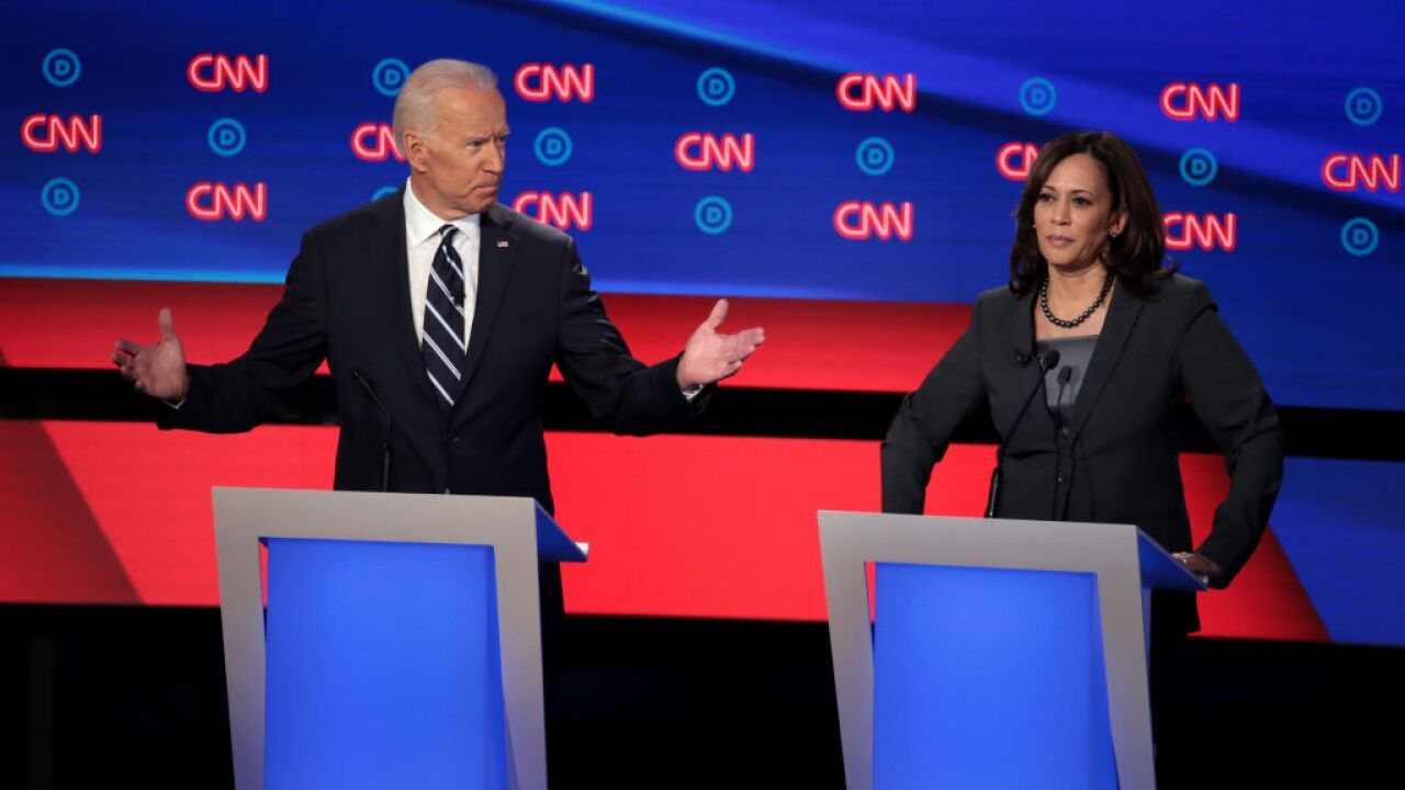 Joe Biden faces attacks from all sides on debate stage