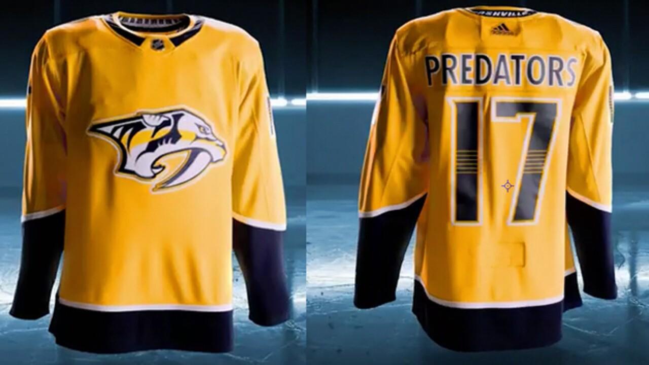 Predators Get Adidas Makeover 9b39498a6