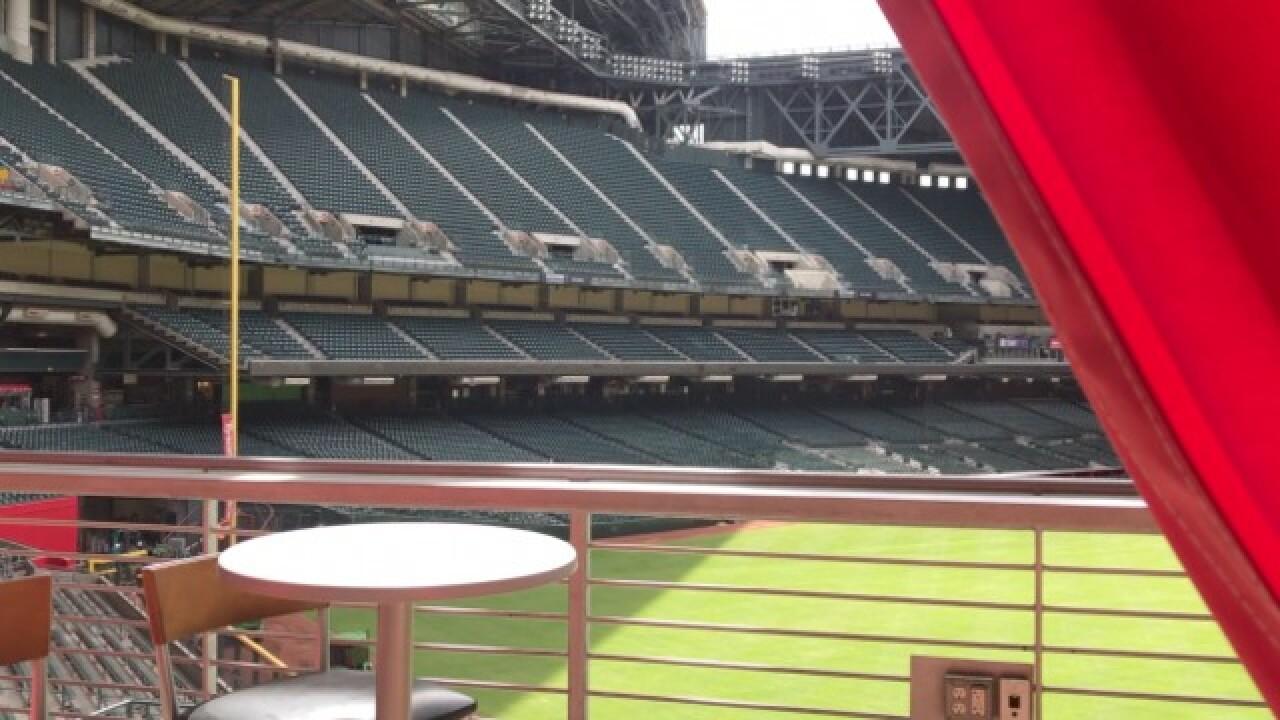 CABANAS! D-backs first MLB team to have suites