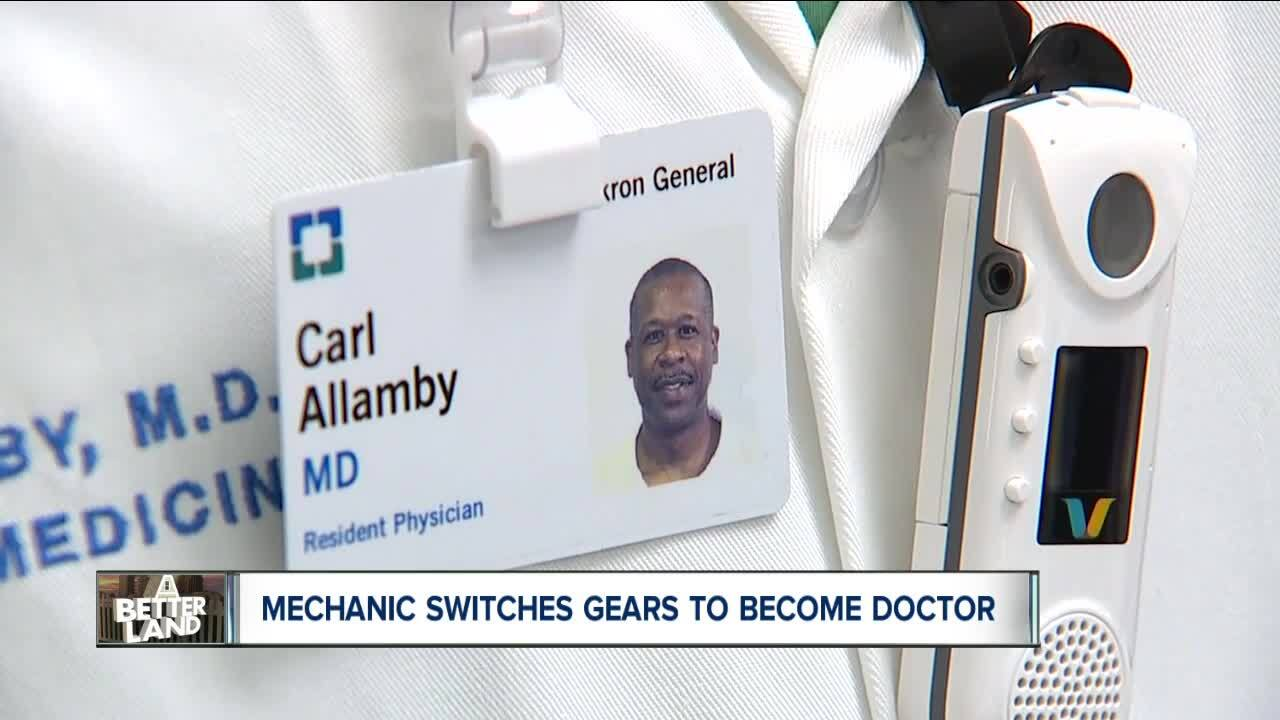 Mechanic becomes doctor