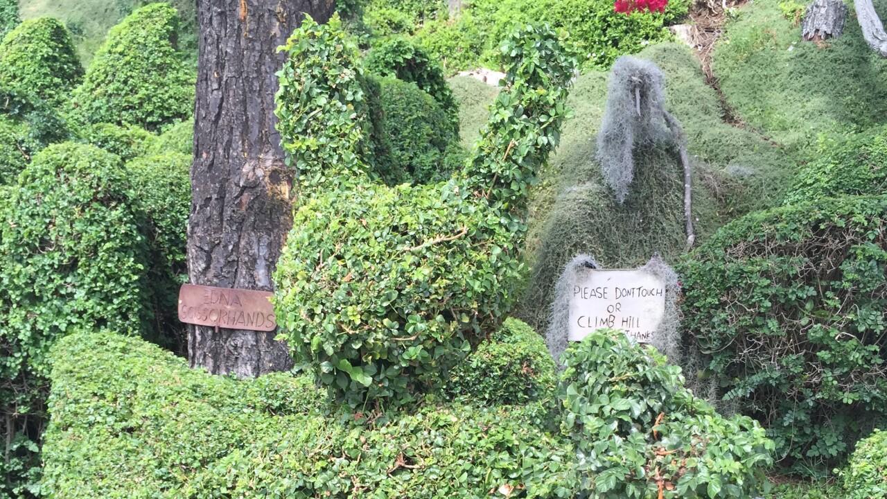 Harper's mission hills topiary garden