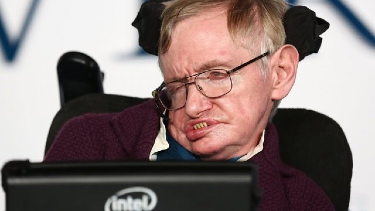Hawking, Zuckerberg join bold space project