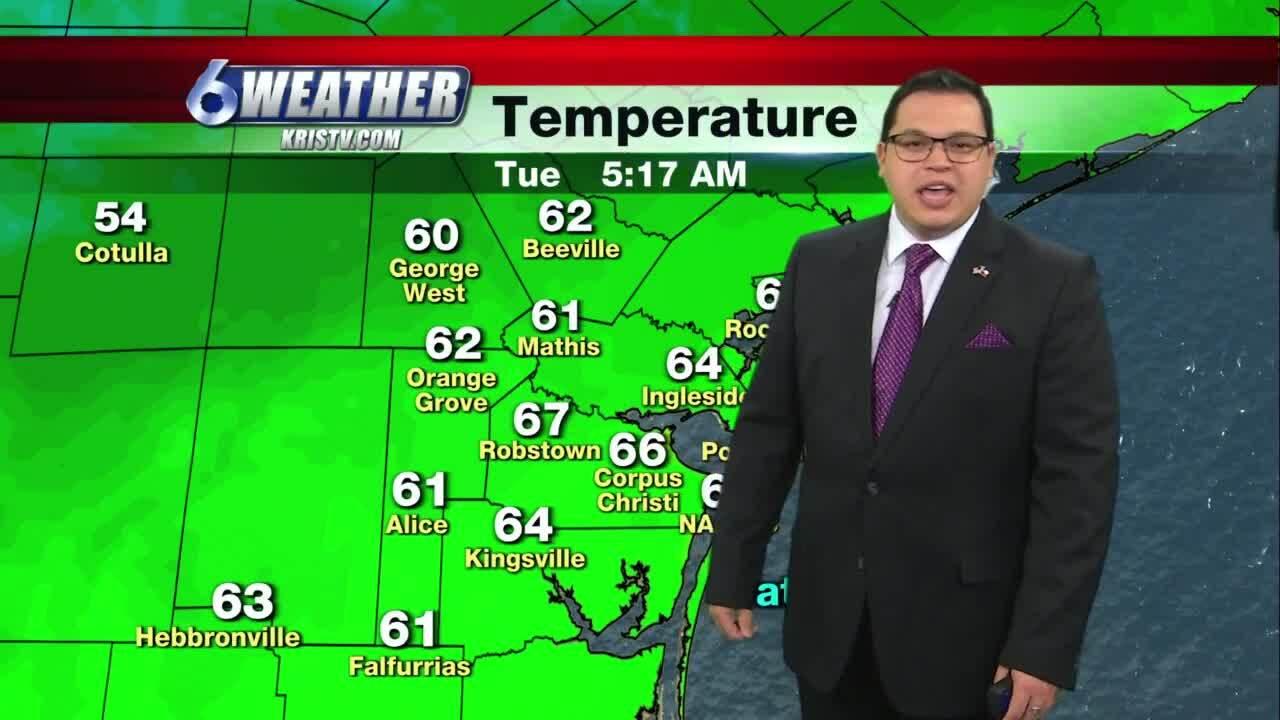 Juan Acuña's weather for Jan. 26, 2021