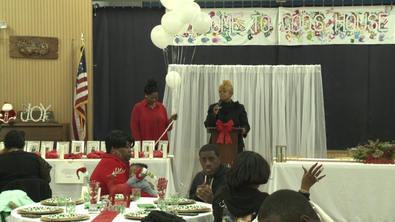 Mothers hold holiday dinner to remember children lost to gun violence