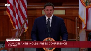 Florida Gov. Ron DeSantis holds a news conference in Tallahassee on March 16, 2021.jpg