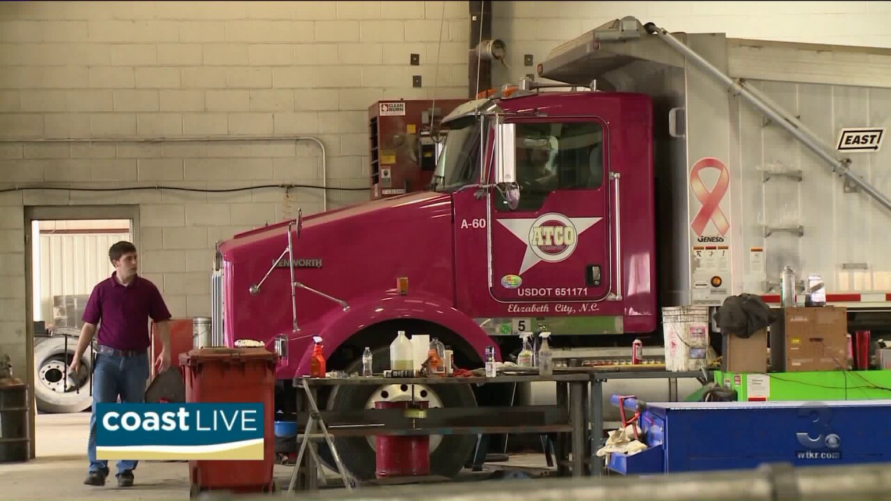 What it takes to make a career of driving a truck on CoastLive