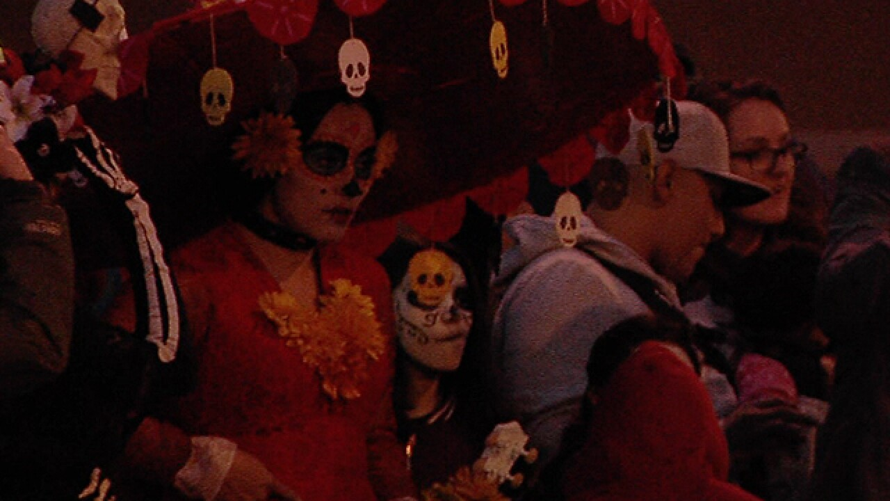 KCK Day of the Dead parade gathers momentum in just two years, honors loved ones who have passed