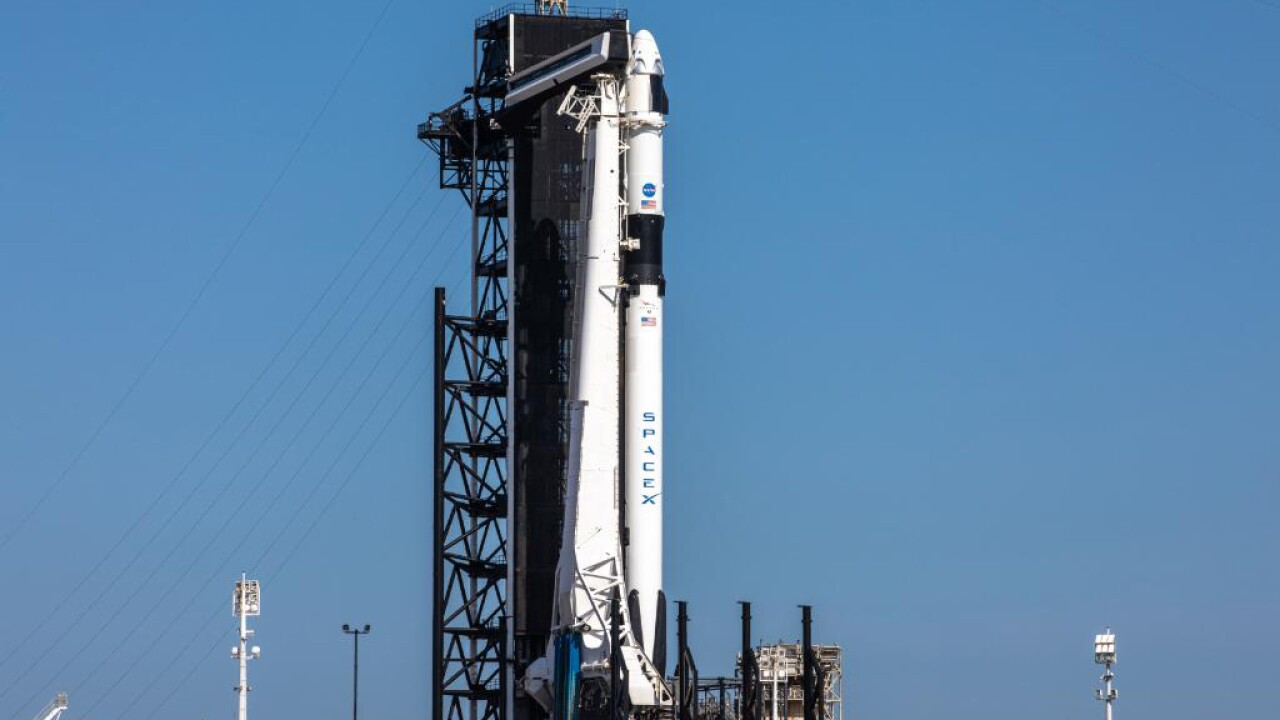 Nation's first astronaut launch since 2011 still  'go for launch' despite weather concerns
