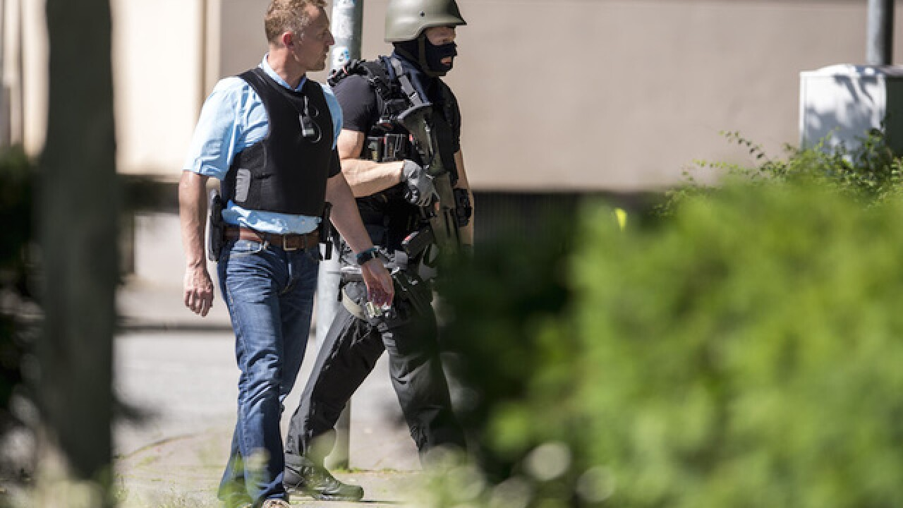 Gunman killed by police in German movie theater, no others injured