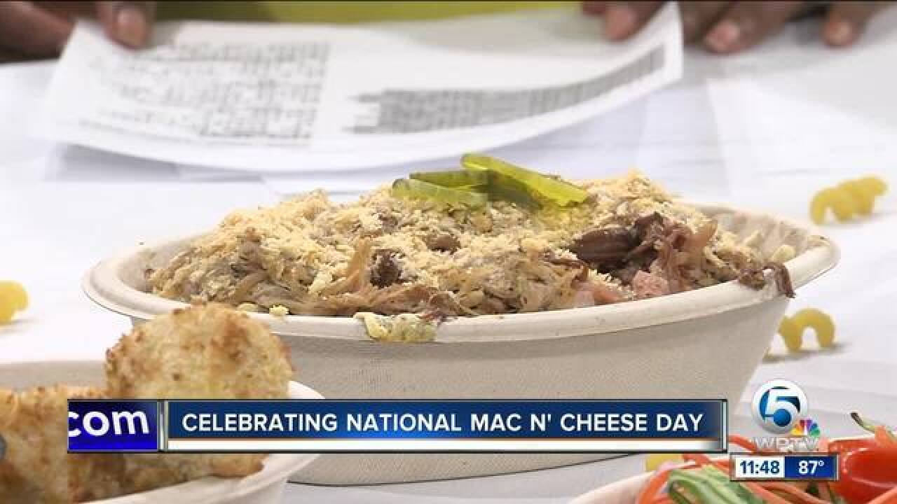 National Mac N' Cheese Day is Friday