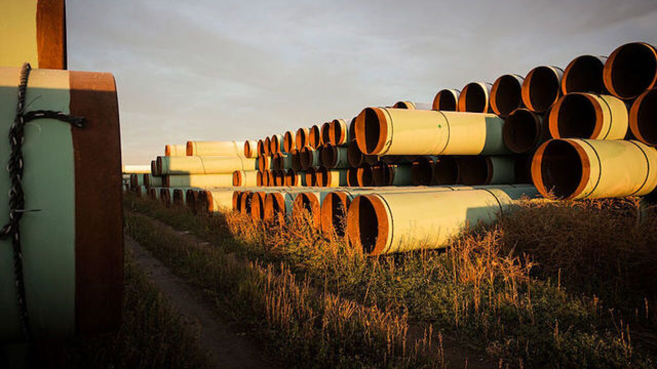 Controversial Keystone Pipeline leaks 210,000 gallons of oil
