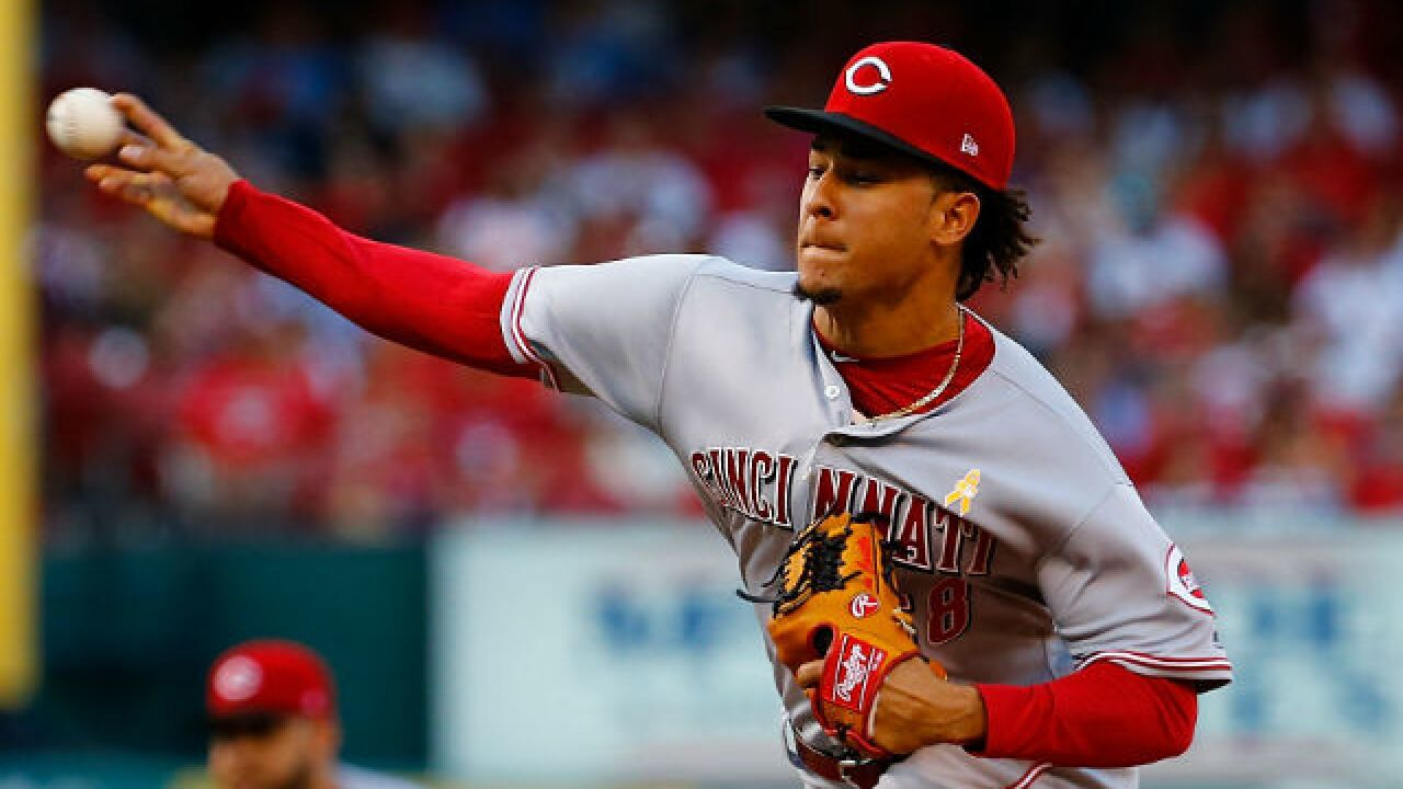 Reds starter Luis Castillo, two relievers throw two-hit shutout against Cardinals