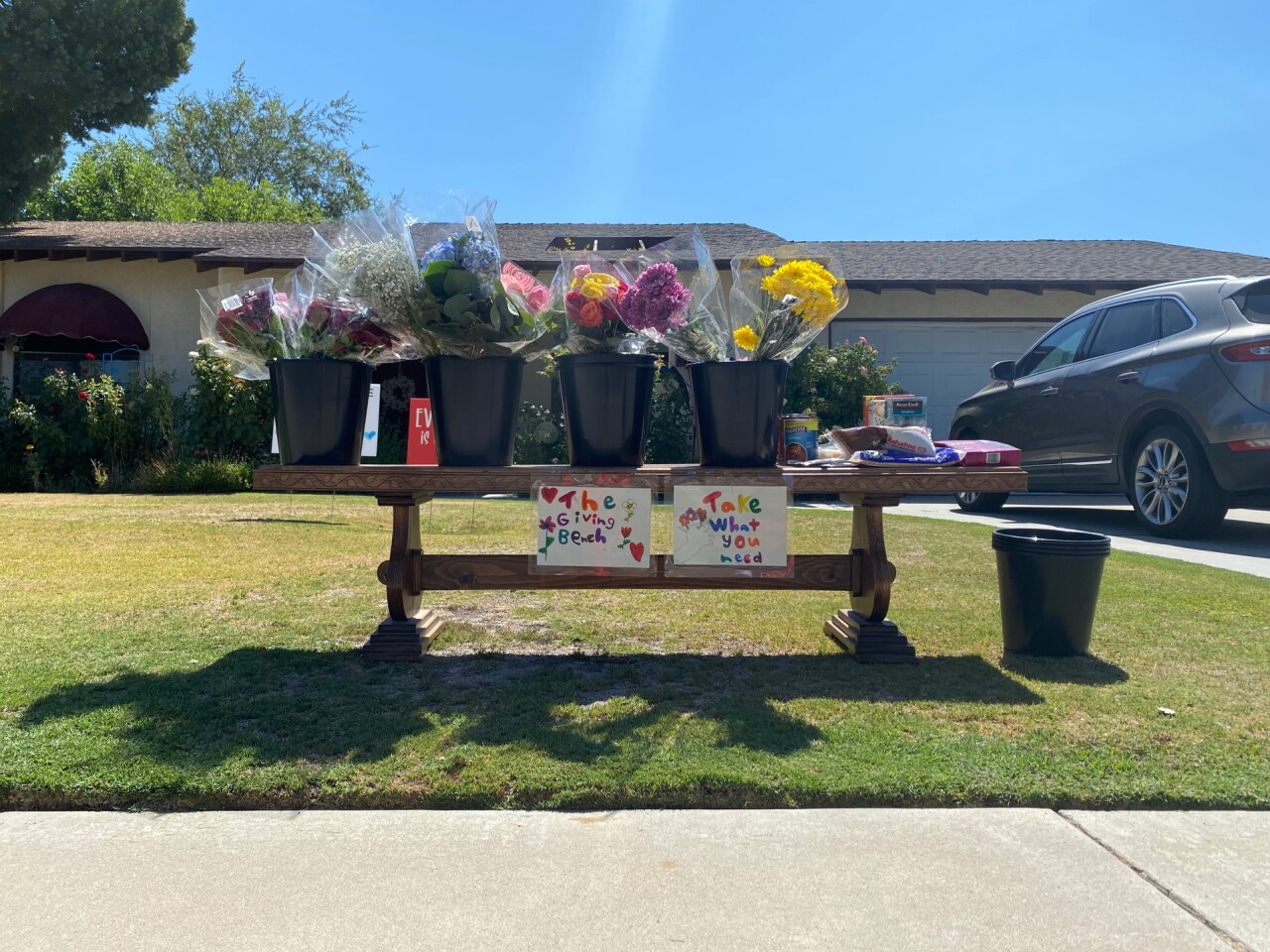 The Giving Bench