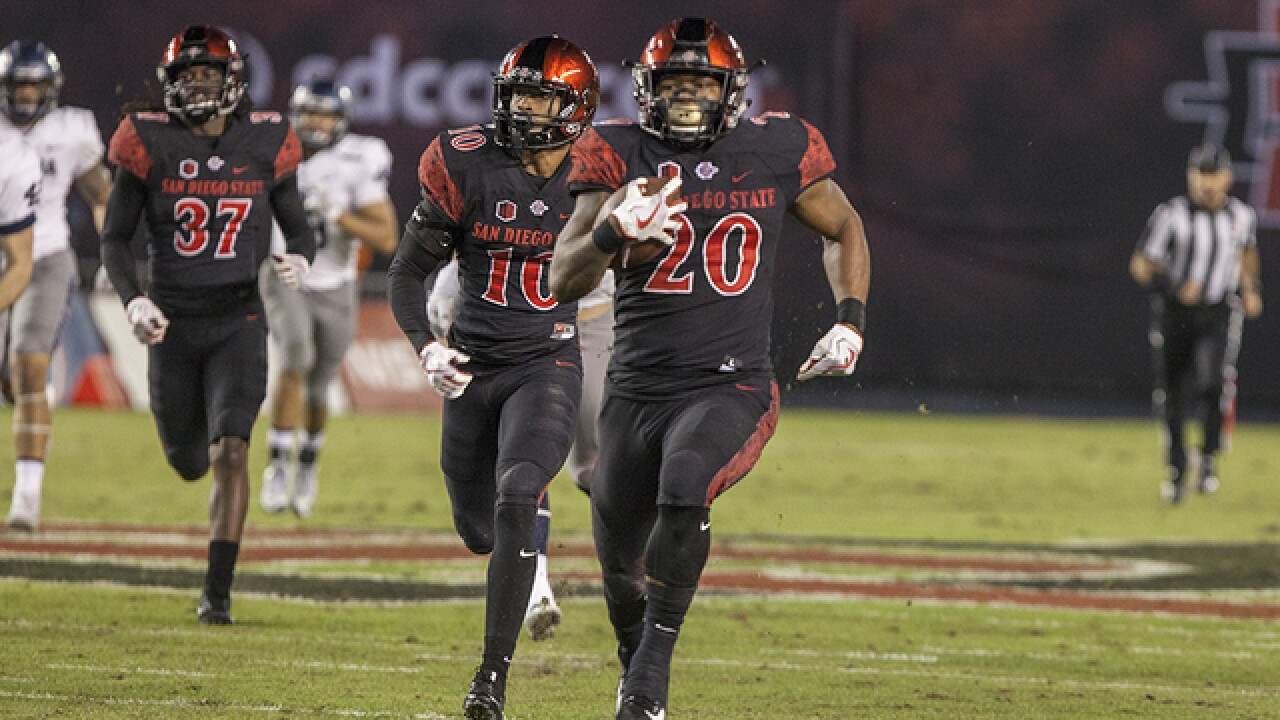 Penny runs wild in SDSU's 35-10 season ending victory over New Mexico
