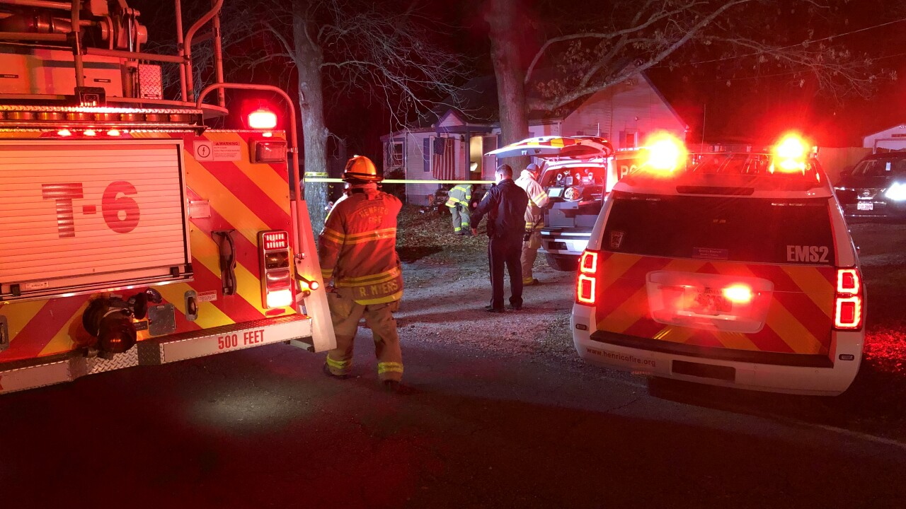 One person injured in Christmas Eve house fire