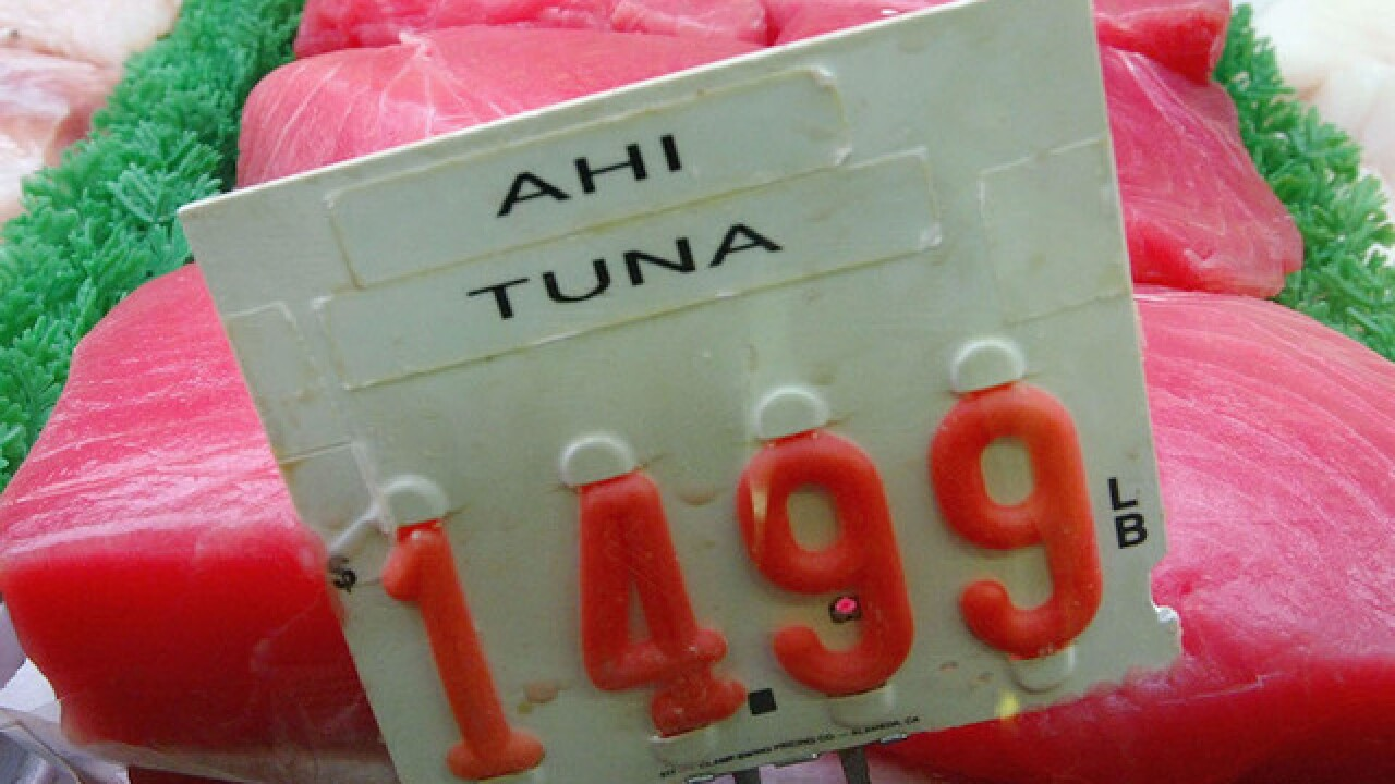Imported tuna in Hawaii tests positive for hepatitis A; officials announce recall