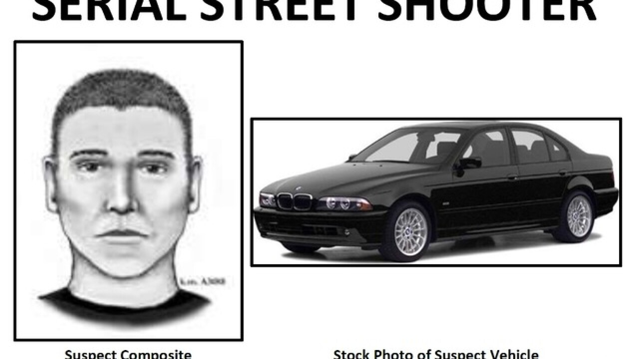 PD: Man, boy in car shot by PHX serial shooter