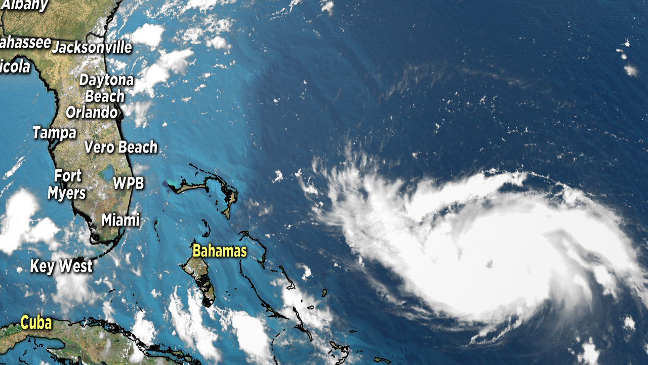 🌀Dorian is now 'major' hurricane slated to hit Floridacoast