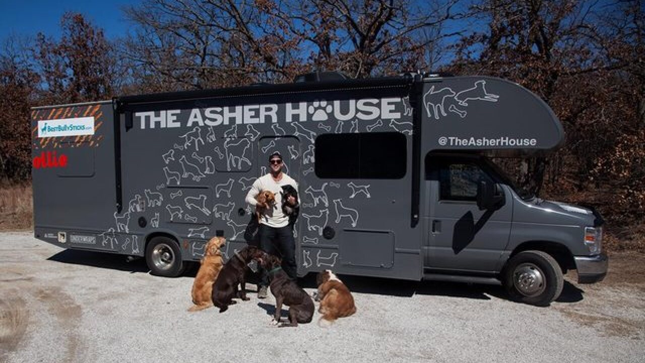 """The Asher House"" visits Idaho Humane Society"