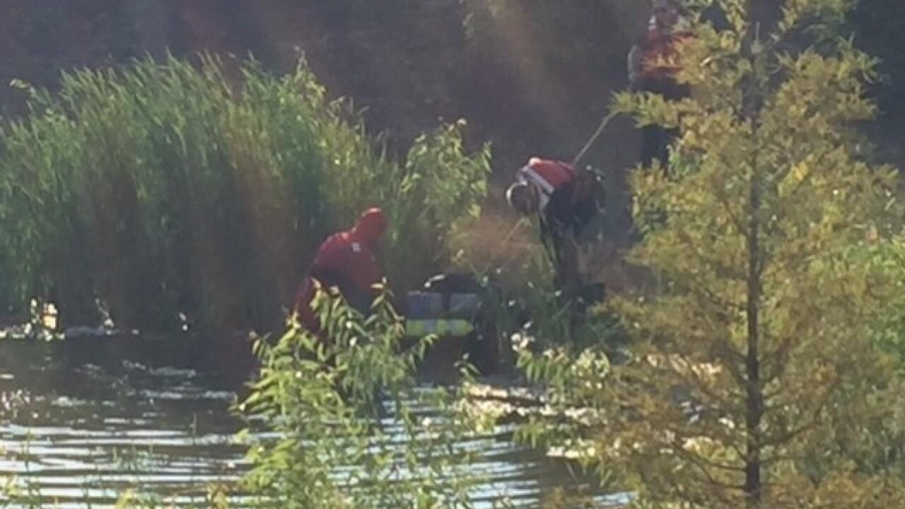 Stolen SUV pulled from retention pond in Kenosha