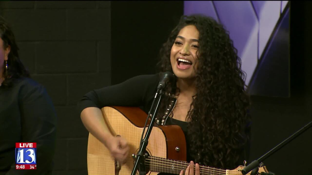 Utah native Analea Brown performs on Fox 13's Good Day Utah