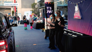 Children's hospital throws socially distanced prom for cancer patents
