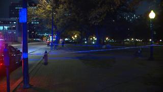 Washington Square Park homeless camp shooting