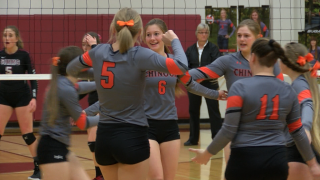 Northern C divisional volleyball tournament: Chinook, Belt advance