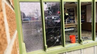 Bloomberg Office Vandalism