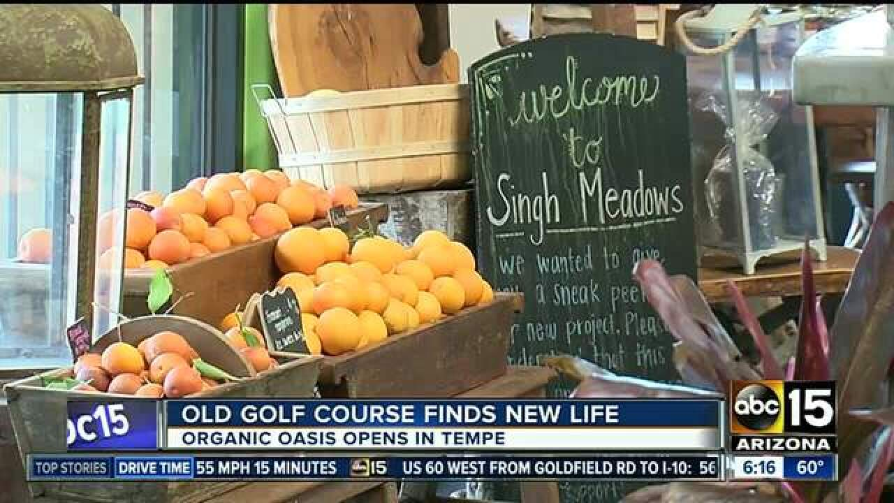 Gardens bring new life to old Tempe golf course