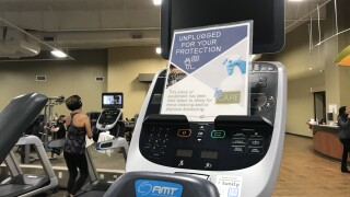 Unplugged machine at Western Racquet and Fitness Center