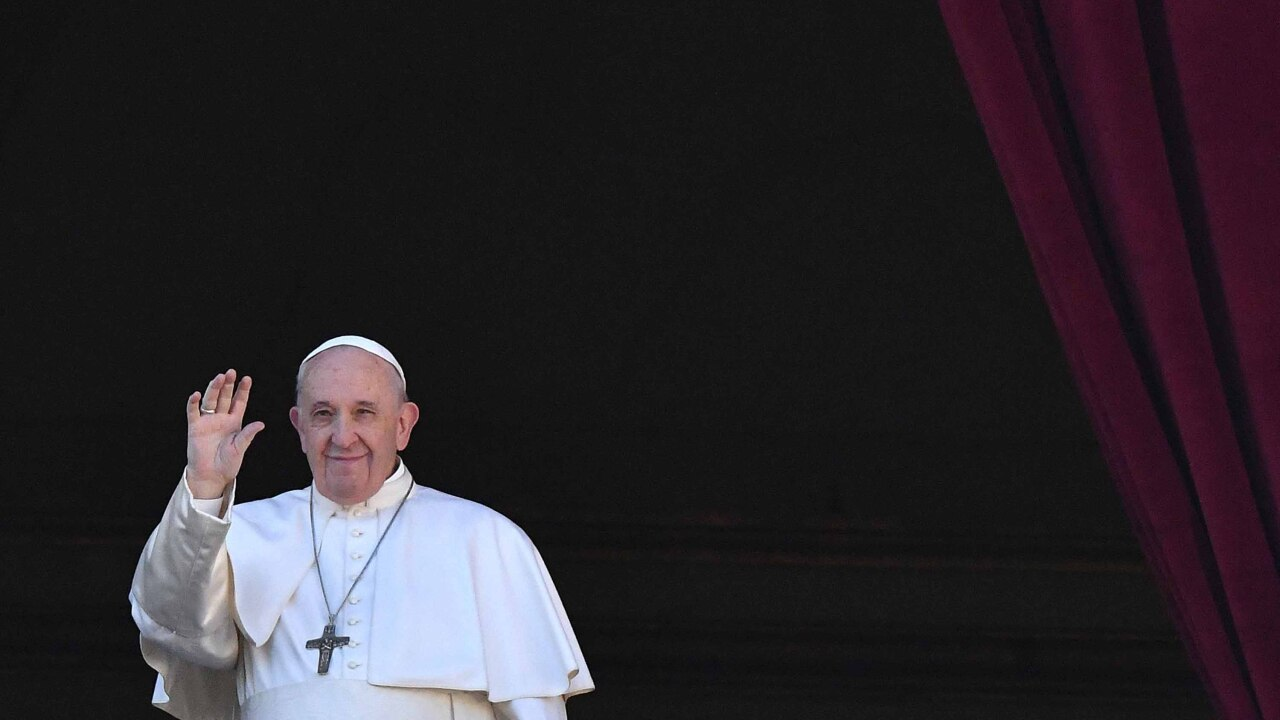 Pope Francis appeals for peace in Christmas Day message