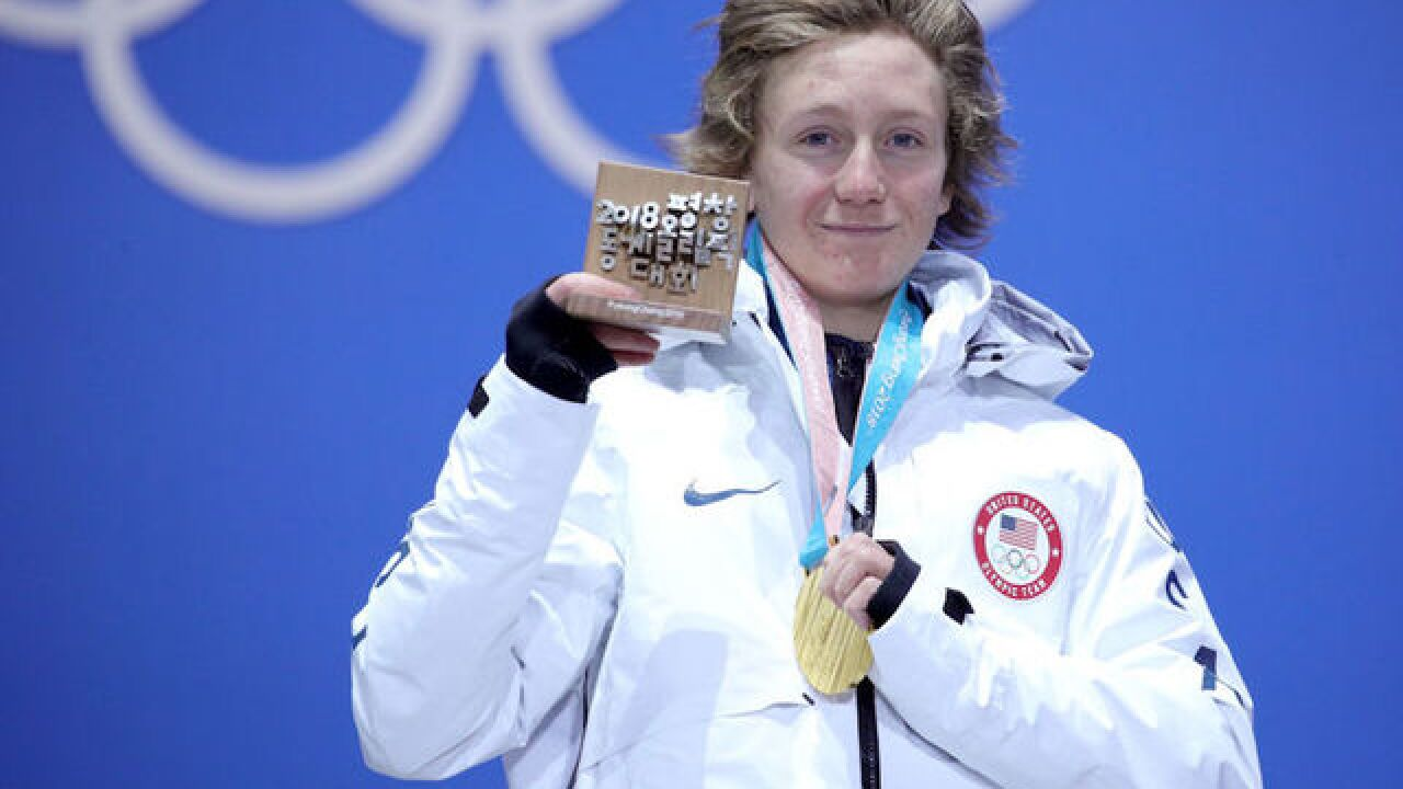 Red Gerard, teenage snowboarder, wins first Team USA gold medal