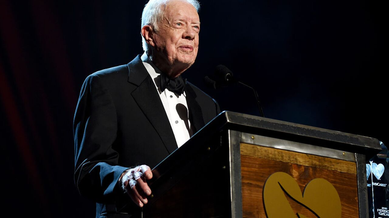 Jimmy Carter is now the oldest living former president ever