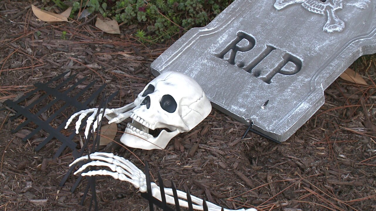 Man swipes tombstone from Portsmouth home: How to keep your decorations fromdisappearing