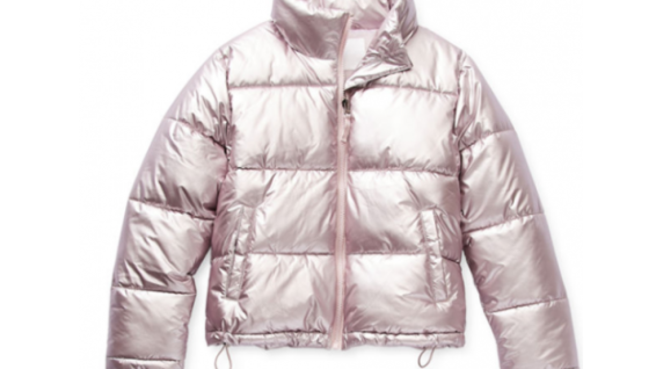 JCPenney's girl's puffer jacket