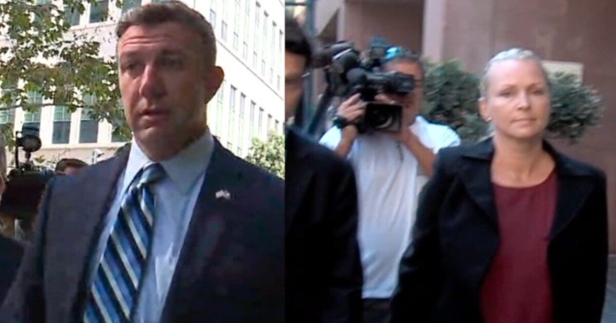 Sentencing delayed for wife of Rep. Duncan Hunter
