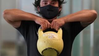 Virus Outbreak California Fitness Centers