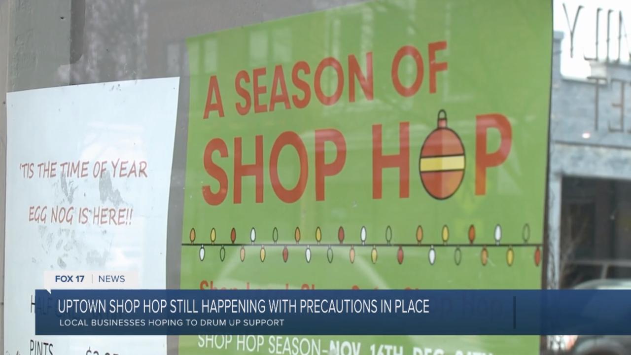 Uptown GR Shop Hop