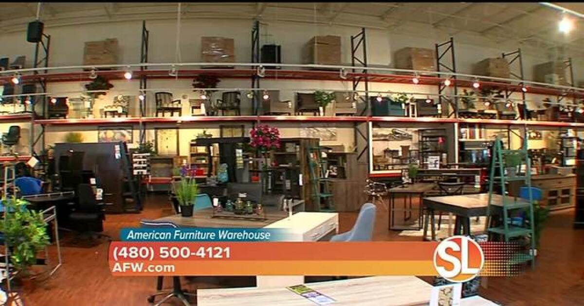 American Furniture Warehouse Offers Low Pressure Shopping Experience