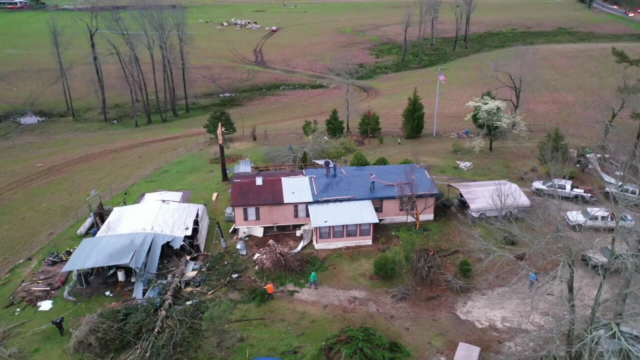 At least 23 dead after tornadoes touch down in Alabama and Georgia