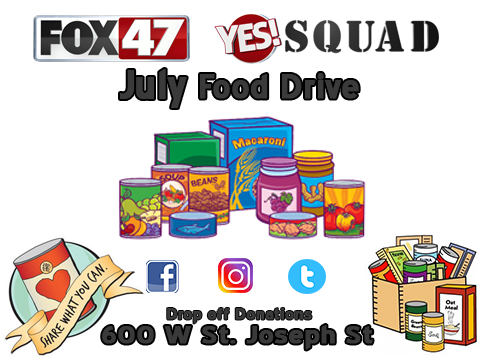 Yes Squad Food Drive
