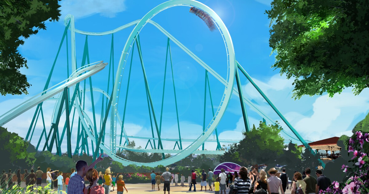 SeaWorld begins construction of new dive coaster