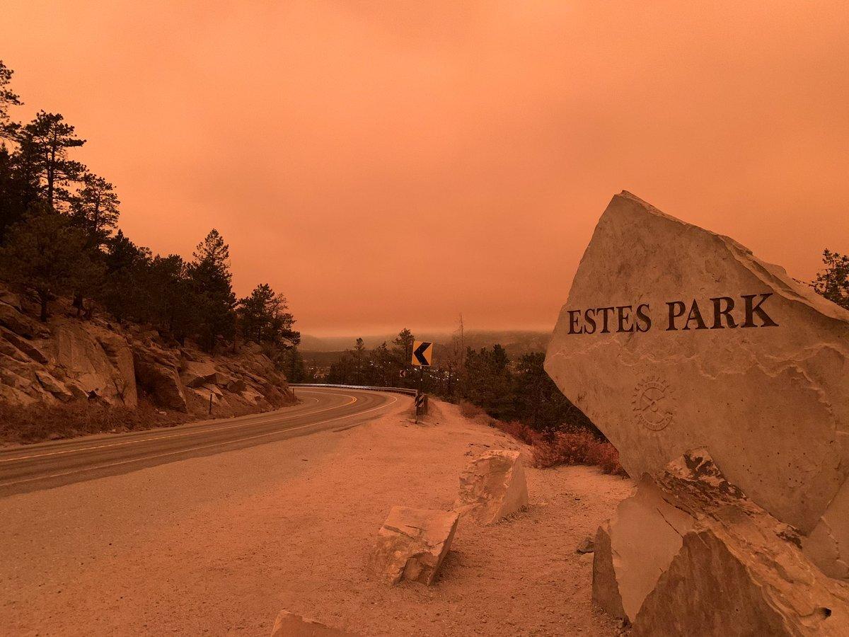 estes park east troublesome fire