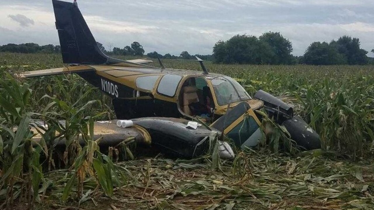 Fleeing defendant who crashed plane into Wisconsin cornfield is facing more charges