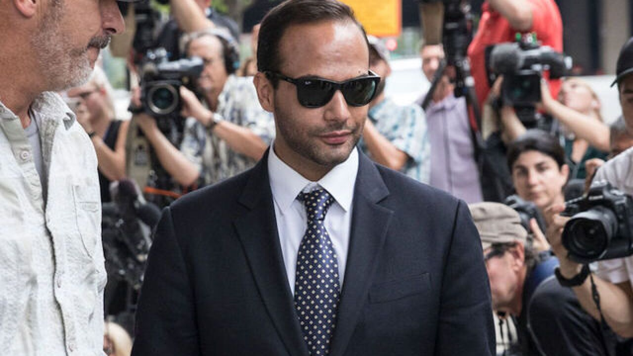 Former Trump campaign adviser George Papadopoulos to start 14-day prison sentence Monday